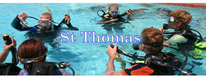 st thomas diving